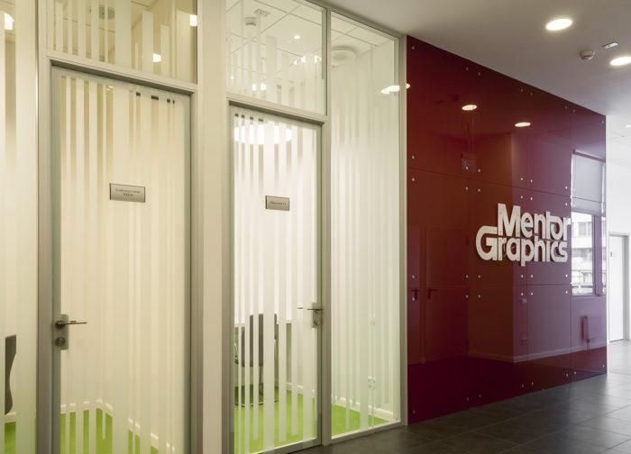 Офис компании Mentor Graphics